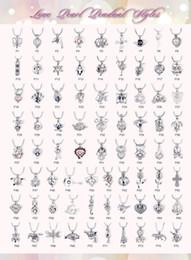 Conjuntos de oro 18k online-Estilo mixto 300 para U elegir - Plata. Oro 18k. Colgante abierto en oro rosa Color Perla de jaula Love Wish Perlas Jaula Montajes de ostra Colgante abierto