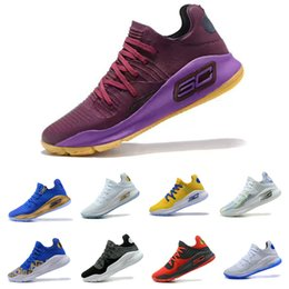 Wholesale Dance Sneakers New - New basketball shoes 2018 Merlot Dance Cam Mom Warriors Top quality Mens basketball shoes sneakers With box size:40-46
