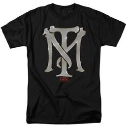 Marca licenciada on-line-Scarface Tm Bling Logotipo Licenciado Adulto T Shirt Dos Homens 2018 Marca de moda T Shirt O Pescoço 100% algodão