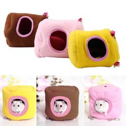 Vente en gros Animaux Suspendus Maison Hamac Petits Animaux Coton Hamster Cage Dormir Nid Animal Cage Lit pour Perroquet Rat Hamster Jouets ? partir de fabricateur