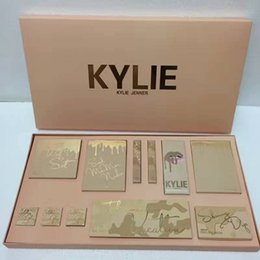 Wholesale Color Bug Set - 5sets 2017 Kylie take me on vacation set Kylie Jenner Make Up set send me more nude ,ultia glow , the wet set and june bug DHL Free