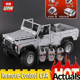 lepin blocks Australia - 2018 Lepin 23003 Technic series MOC Remote Control Wild off road vehicles model Building Blocks Bricks 3643Pcs toys for Children