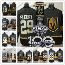 Wholesale Black White Womens - Mens Youth Womens #18 James Neal 29 Marc-Andre Fleury 71 William Karlsson Vegas Golden Knights Gray Inaugural Season 2018 Stanley Cup Jersey