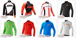 Wholesale kuota cycle jersey - KTM KUOTA team Cycling Winter Thermal Fleece jersey Quick Dry Bike Wear Mountain Bike High quality Racing Clothes C3003