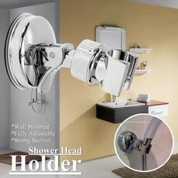 Soportes de montaje para ducha ajustables Ducha de baño Titular de la cabeza  Soporte para bastidor Ventosa Soporte de reemplazo montado en la pared ... 040f5a356e88