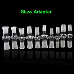 2019 цилиндр одностороннего действия 10 моделей Glass Bong Адаптер между мужчинами и женщинами 14/18 мм между мужчинами и женщинами конвертер