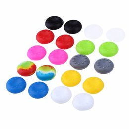 Wholesale xbox one caps - Soft Skid-Proof Silicone Thumbsticks cap Thumb stick caps Joystick covers Grips cover for PS3 PS4 XBOX ONE XBOX 360 controllers