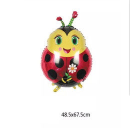 Wholesale Model Bees - New Styles models of Frog balloons Butterfly aluminum foil balloon walking pet balloons Walking Bee Ballons Party toys
