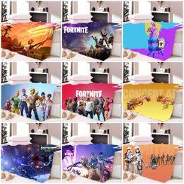 Winter Autumn Warm Fortnite 3D Digital Printing Bejirog Home Bedding Article Thickening Blanket Custom Kids Adult Throw 70fg hh