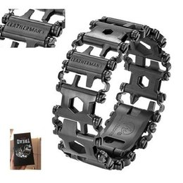 Wholesale Cars Camp - LeatherMan TREAD Followers Creative Fashion Tools Bracelet Bracelet Wearing Equipment Outdoor EDC Tools M450