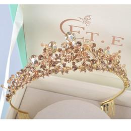 2019 headpiece de noiva vermelho preto New Rhinestone projeto da pérola coroa de noiva artesanal tiara de champanhe headband de cristal diadema mulheres festa de casamento acessórios para o cabelo