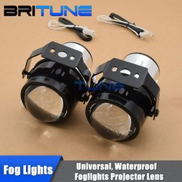 7fedd194e4 bifocal lens Promo Codes - 2.5 inch Universal HID Bixenon Single Beam Xenon  Fog Lights Projector