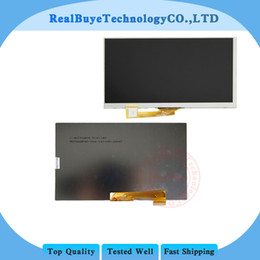 "Wholesale Tft Lcd Tablet - Wholesale- A+ 164* 97mm 30 pin LCD display Matrix For 7"" Explay Hit 3G Tablet inner TFT LCD Screen Panel Lens Module Glass Replacement"