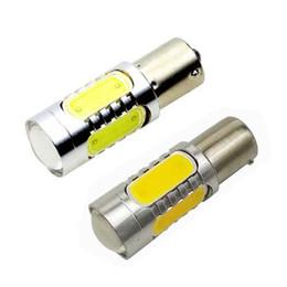 Wholesale High Power Led Ba15s - YSY 10X BA15S 7.5W High Power S25 P21W 1156 1157 Car LED Stop Lamp Light Tail Brake Reverse Fog Turn Signal Bulb 12V
