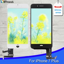 Wholesale One Iphone - Quality AAA No Dead Pixel LCD Screen For iPhone 7 plus LCD Display Touch Glass Screen Digitizer Assembly Test one by one DHL Free Shipping