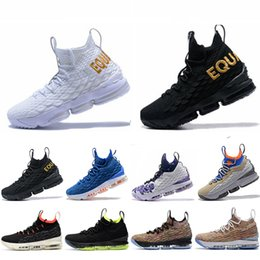 sneaker pumps heels Promo Codes - New Lebron 15 15s Waffle Mowabb Hardwood  Hollywood Basketball Shoes 65dddfeb8