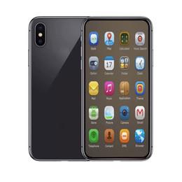 Double carte sim en Ligne-6,5 pouces Goophone xs max 1GBRAM 4GBROM MTK6580 QuadCore 5MP 3G Boîte scellée WCDMA Faux 4G LTE affiché Téléphones Mobiles Double Carte SIM