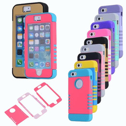 Wholesale Apple Dot - Hybrid Defender Armor Case 3 in 1 Robot Cases Ten Dot Point Heavy Duty Cover For iPhone X 8 7 6 6S Plus 5 5S Samsung S7 Edge