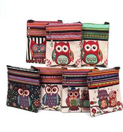 modèle de sac de hibou Promotion Nouvelle mode femmes sacs à bandoulière brodé hibou modèle postier paquet fourre-tout sacs à main sac de haute qualité