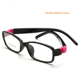 Cute Rubber Leg Kids Animal Detachable Eyeglasses Optical Glasses Frames Eyewear For Children No Screw Safe Myopia Lense 8818 Latest Fashion Men's Glasses
