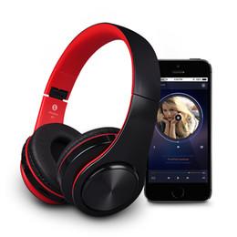 2018 беспроводные аудио гарнитуры B3 Беспроводные наушники Bluetooth для Apple iPhone Смартфон 400mAh Аккумулятор TF Card Воспроизведение AUX Audio Line Headband Headset с розничной упаковкой дешево беспроводные аудио гарнитуры