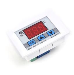 Frete grátis! 1 pc / lote XH-W1321 Controlador de Temperatura Digital DC 12 V-50-110 Celsius Saída de Relé Celsius Ampla Faixa de Temperatura de Fornecedores de correntes de aço inoxidável