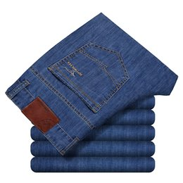 Jeans da uomo economici Jeans da lavoro da uomo allentati Jeans Stretch Work Dress Pepe Pantaloni da uomo Father Day supplier cheap summer jeans da jeans estivi economici fornitori