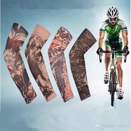 2019 tattoo-designs für männer Multi art 100% polyester elastische Gefälschte temporäre tätowierung hülse designs körper Arm strümpfe tattoo für coole männer frauen IC894 rabatt tattoo-designs für männer