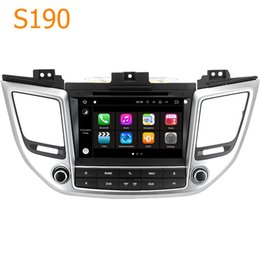 Wholesale Android Car Radio Hyundai - Road Top S190 Android 7.1 System Quad Core CPU 2 Din Car Radio DVD Player GPS Navigation Head Unit for Hyundai ix35 Tucson 2.0L 2016 2017