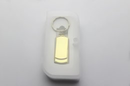 Wholesale Steel Flash Drive - New best DHL For 32GB 64GB 128GB Stainless steel USB Flash Drive disk USB mini gift memory stick Pendrives thumbdrives