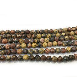 2019 gioielli in pietra fossile Perle di pietra fossili naturali Perline in pietersite preziosa per monili che fanno braccialetto fai-da-te Collana Accessori 6mm 8mm 10mm gioielli in pietra fossile economici