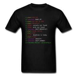 Argentina Programador de lunes Camiseta Ropa graciosa Friki Hombres elegantes Tops Camiseta que dice divertida Camisetas de algodón Camisetas negras Nueva llegada cheap programmer s Suministro