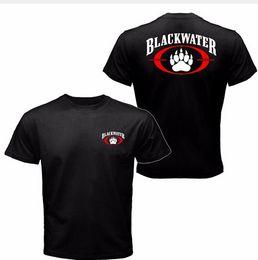 BLACKWATER T shirt Homens dois lados PRETO ÁGUA MILITAR Clássico casual presente tee EUA Tamanho S-3XL Hot Barato Dos Homens de