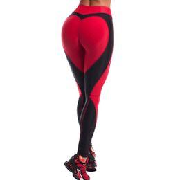 2019 blanco ropa deportiva Sexy Women Leggings Gothic Insert Mesh Design Pantalones Pantalones Tamaño grande Negro Blanco Patchwork Capris Sportswear Fitness Leggings rebajas blanco ropa deportiva