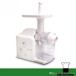 Wholesale Automatic Juice Machine - mini juicer extractor machine automatic home slow juicer household plastic fruit juice machine electric juice extractor machine