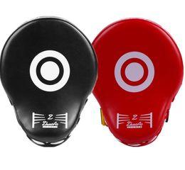 Canada Équipement de protection noir et rouge de haute qualité Cibles arquées pour boxeurs, cibles d'entraînement, kickboxing, cibles de pied, cibles de murs courbes Offre