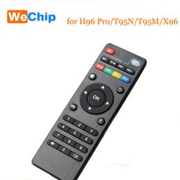 relè di controllo della tensione Sconti Telecomando libero di trasporto per Android Tv Box H96 Pro Plus / X96 / T95N / T95M / MXQ Pro / V88 / T95Z Plus Repalcement Remote Controller