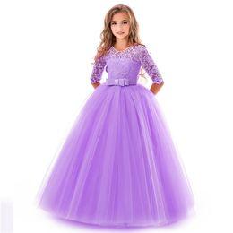Лучшие свадебные платья девушки онлайн-Лучшие продажи взрывы девушки лук пачка эксклюзивные новые девушки цветка свадебное платье ну вечеринку фортепиано производительность платье принцессы