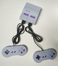 Wholesale Videos Box - Super NES Game Consoles SNES Classic Games Mini TV Video Games Handheld Retro Player NES For PAL NTSC With Retail Box