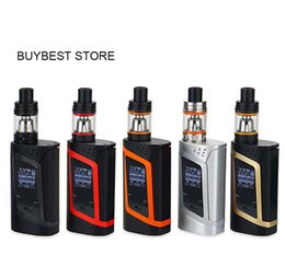 Wholesale Alien Tank - SMOKING Alien 220W Starter Kits with 3ml TFV8 Baby Beast Tank 220w Alien Mod Large Air Chamber with Four Alternate Coils Vaporizer Mod