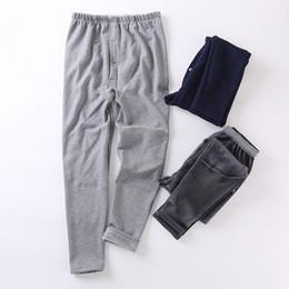 Wholesale Thermal Pants For Men - Plus velvet male panties cotton thickening long johns warm underwear kneepad thermal pants for men