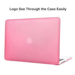 Estuches para macbook 13 pulgadas online-Premium New Matte Rubberized Full Protege el estuche rígido de plástico duro para Macbook 11/12/13/15 pulgadas concha protectora