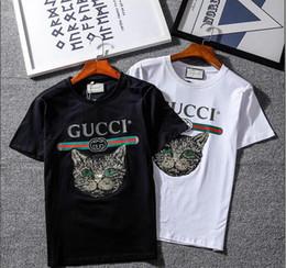 Wholesale united tees - Ripndip Europe United States printing popular logo t-shirts New Men's women Short Sleeves T-shirt Tee Tops White Black COOL