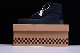 Wholesale Hi Media - A AAA+ Quality vas sk8-hi Reissue Zip Originals Mono Dress Blue Man SK8 MONO SP ZIP V38C 556963-0001 With Original Box