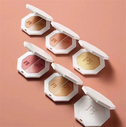 Wholesale Making Pancakes - Hot Fenty Beauty BY Rihanna pressed killawatt freestyle 6 colors pancake makeup Bronzers Highlighters 1 set Two color make up Face Cosmetics