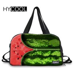 HYCOOL Watermelon Printed Gym Bag For Fitness Sports Bag Female Travel  Handbag Waterproof Yoga Sport For Men Women Train. Supplier  raisins 1f1853ea7c