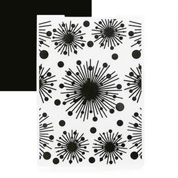 Wholesale Paper Embossing Tools - Christmas Snowflake Fireworks Embossing Die Folder Album Paper Card Xmas Tool