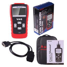 Wholesale bmw usb obd cable - 10PCS VAG 405 Scanner OBD+Vag 2-In-1 Code Reader 405 Code Reader VAG 2-In-1 Scanner VAG 2 In 1
