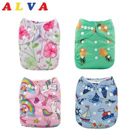 Alva Baby One Size Nappy CoverReusable Cloth Waterproof Nappy CoverUK