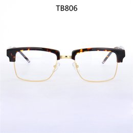 947209c0159 High-quality TB806 glasses male big-square frame 54-21-145 plank+metal with  full-set case prescription galssses freeshipping big round eyeglass frames  ...